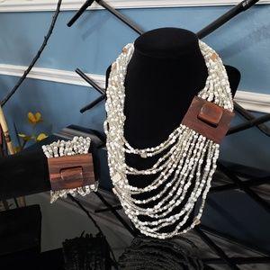 Jewelry - Seed Bead Necklace n Bracelet